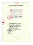对外汉语教师资格证证书泰国大使馆认可证明
