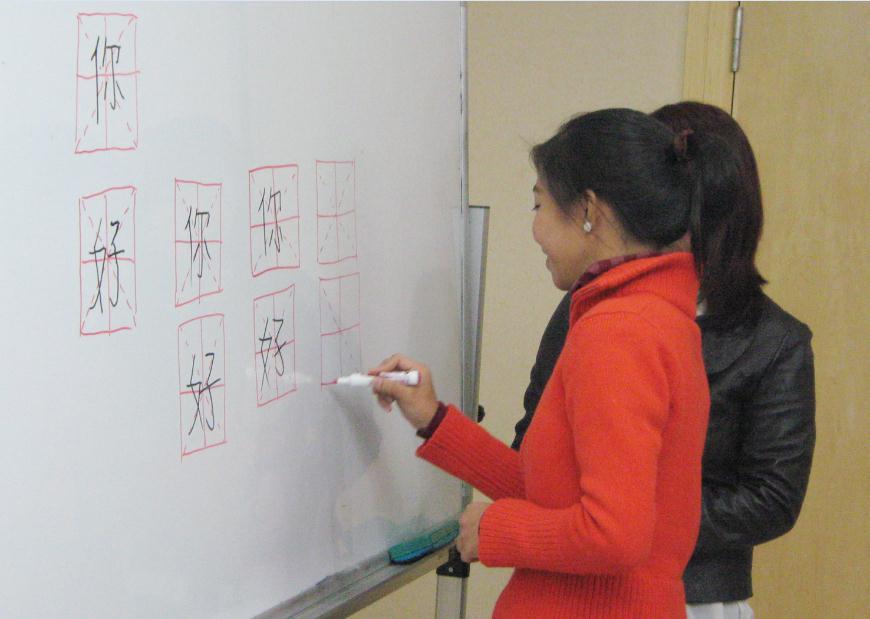 ITA国际汉语教师协会培训现场