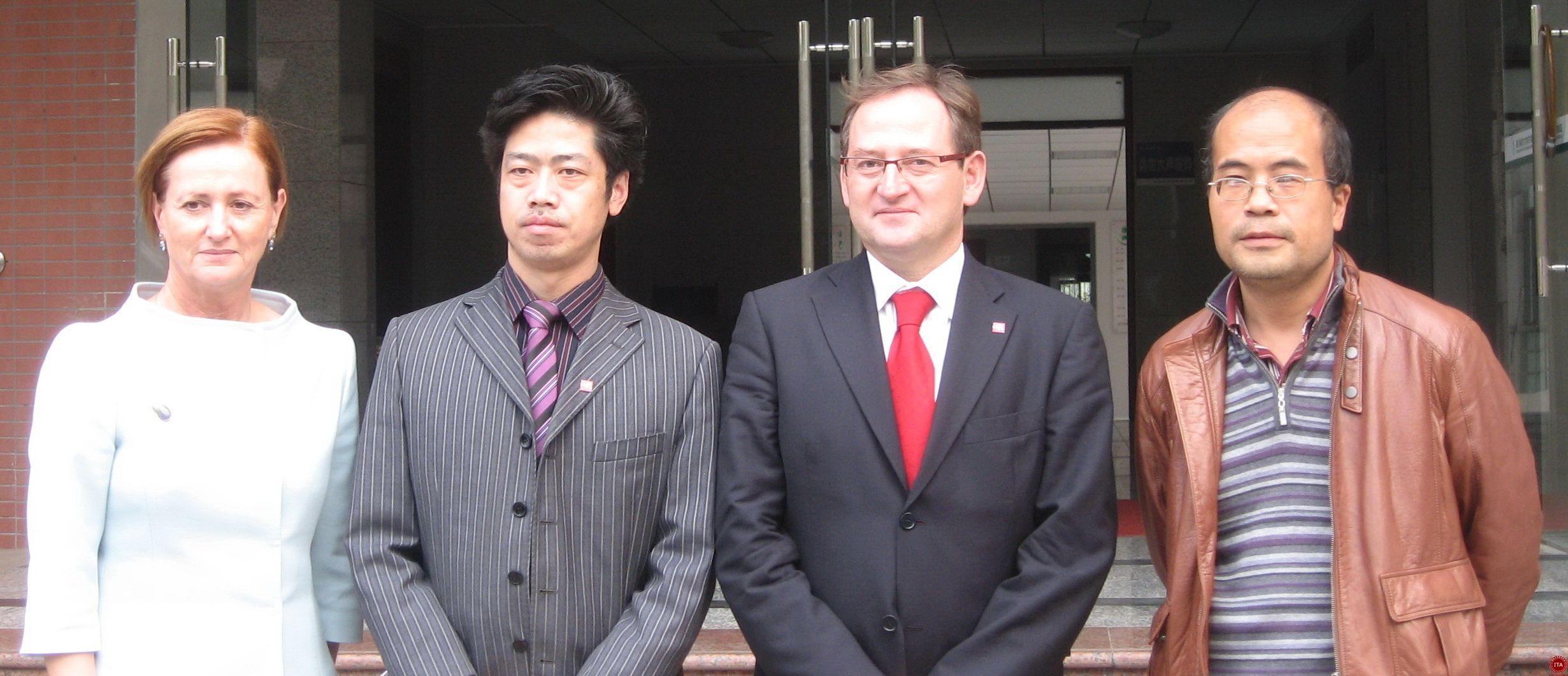 ITA国际汉语教师协会学员在德国教学