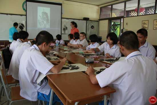 ITA国际汉语教师协会赴泰国任教实景