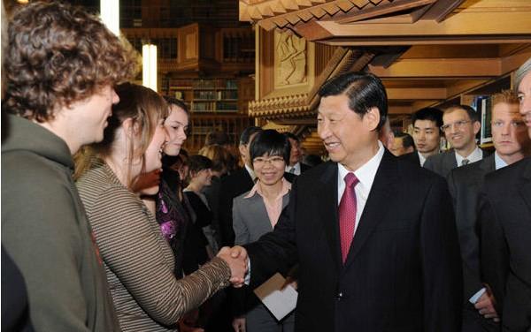 ITA对外汉语教师在比利时鲁文大学任教