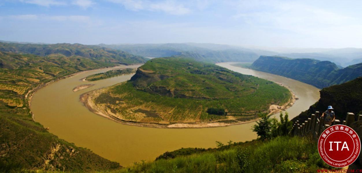 乾坤湾――黄河第一湾图片