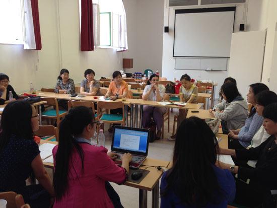 匈牙利三所汉语文化推广中心联合举办汉语教师教学研讨会
