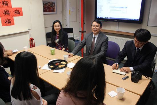 国家汉办副主任王永利访问谢菲尔德大学汉语文化推广中心