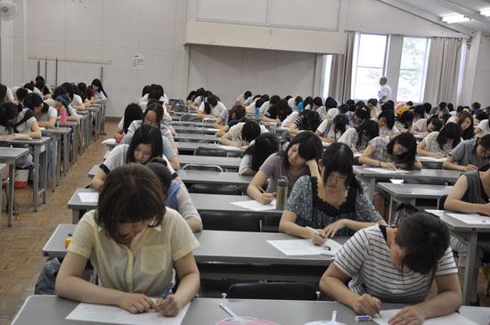 长野广播汉语教学点首期大学汉语培训班结业