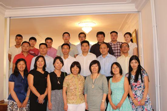 中国驻土耳其大使馆举办汉语教师及中资企业代表座谈会
