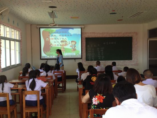 泰国清迈教联高级中学举行语文教研活动