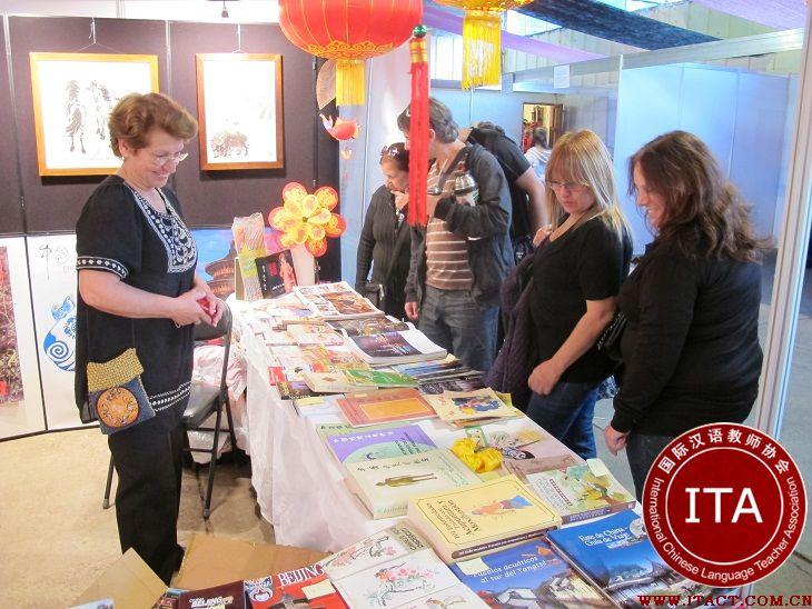 阿克伦大学汉语文化推广中心成功举办中国文化展