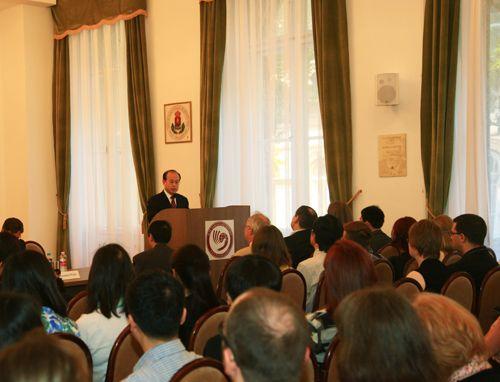 中东欧对外汉语教师培训中心在匈牙利罗兰大学成立