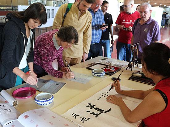 特拉维夫大学汉语文化推广日系列庆祝活动落幕