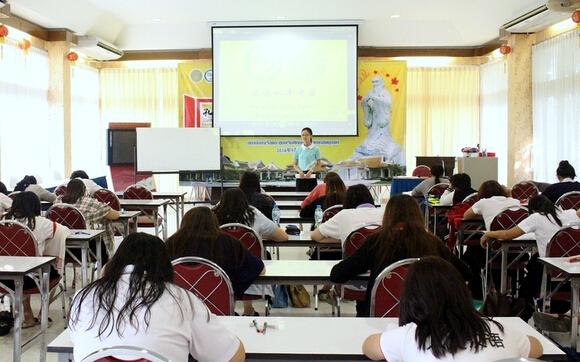 泰国东方大学对外汉语培训中心举办HSK模拟考试