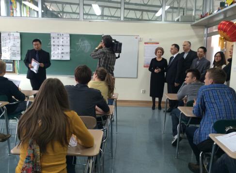 """素攀对外汉语培训中心举办""""在泰汉语教学中国媒体报道行"""""""