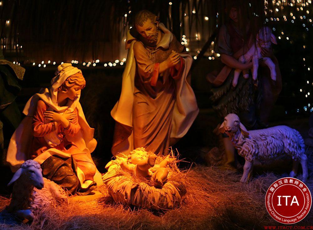 在冰岛圣诞节在平安夜下午6时开始
