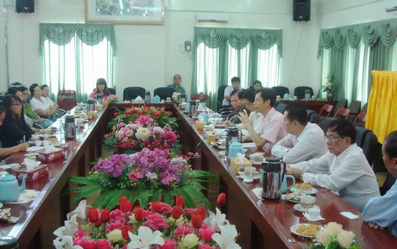 缅甸华校举办缅北腊戌校际教师汉语教学交流会