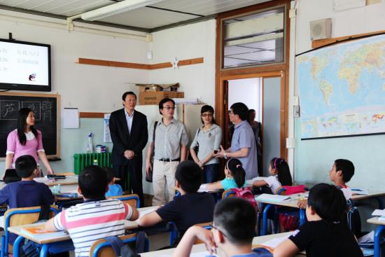 旅意侨领佛罗伦萨办汉语培训班 助力华侨子女学汉语