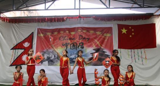 泰国南那瓦中学国际汉语教师欢度汉语文化节