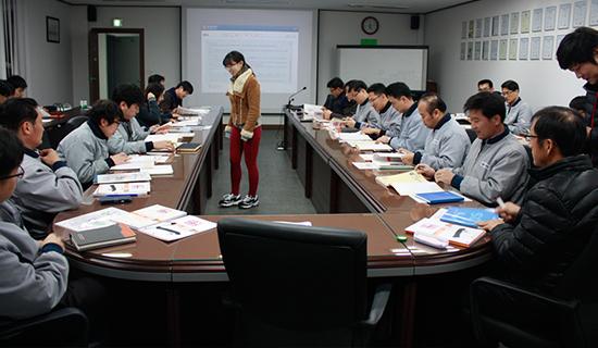 韩国SPG株式会社举办企业高管汉语培训班