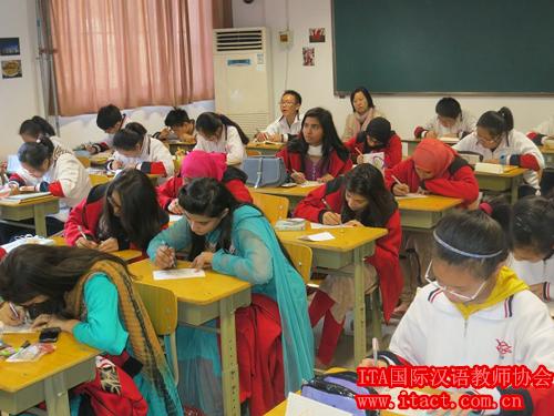 巴基斯坦首都一家国际学校,将在下学期开设中文课,需要7名中文教师。