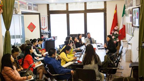 意大利佛罗伦萨中文学校举办多媒体教学讲座
