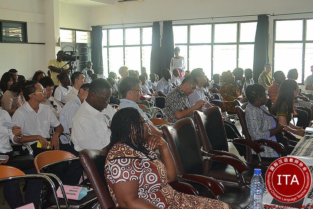 加纳大学孔院成立一年招收学汉语学生逾千人