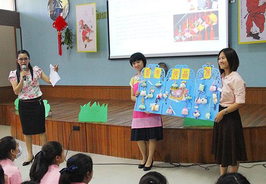 南邦嘎拉尼亚学校汉语教学点举办端午主题活动