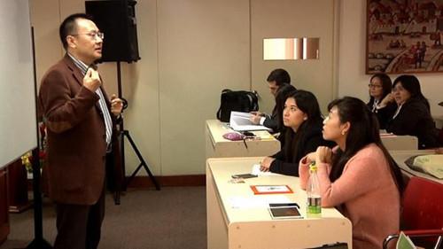 第二届拉美本土汉语教师培训在秘鲁首都举行