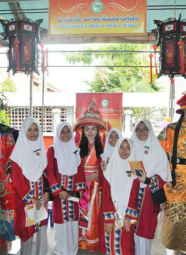 宋卡王子大学孔子学院参加沙敦第八届泰南外语教学展