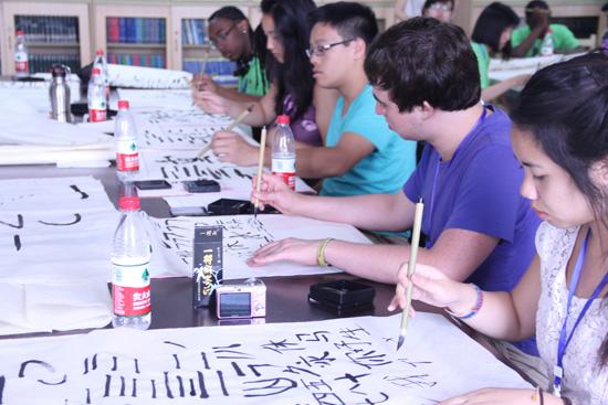 美国基金会资助西雅图中学生暑期到中国学中文