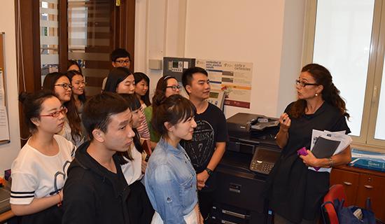 罗马大学孔子学院开展2015新汉语教师入职培训