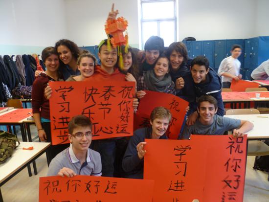 不少意大利人对中国兴趣浓厚