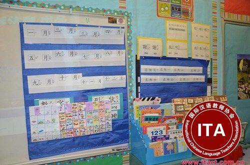 中国侨网华语老师通过寓教于乐的方式带动学生们学习中文的兴趣。(美国《世界日报》/王全秀子 摄)